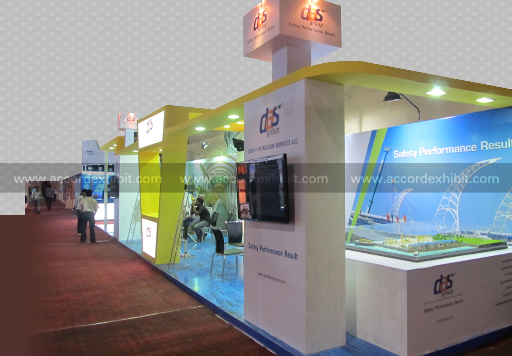 Exhibition Stall for Das Group