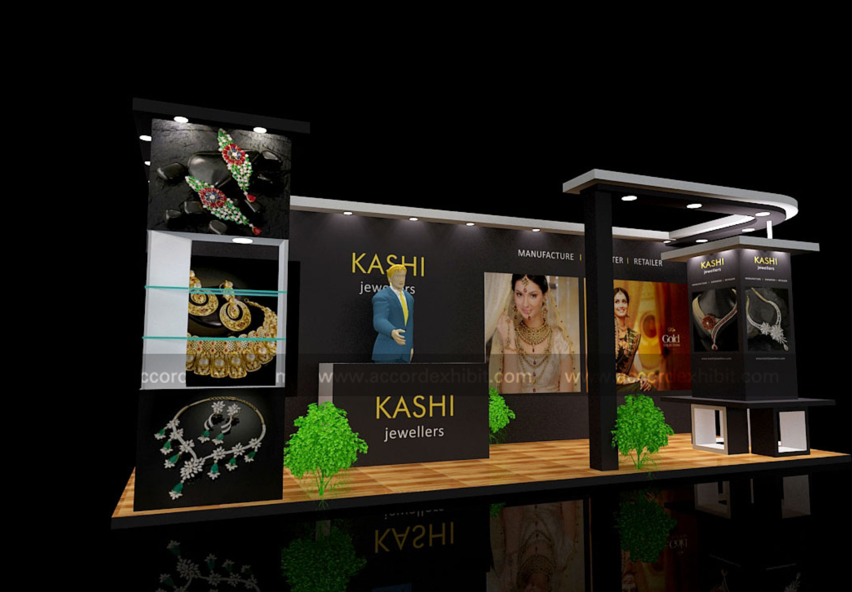 Exhibition Stall for Kashi Jewelers