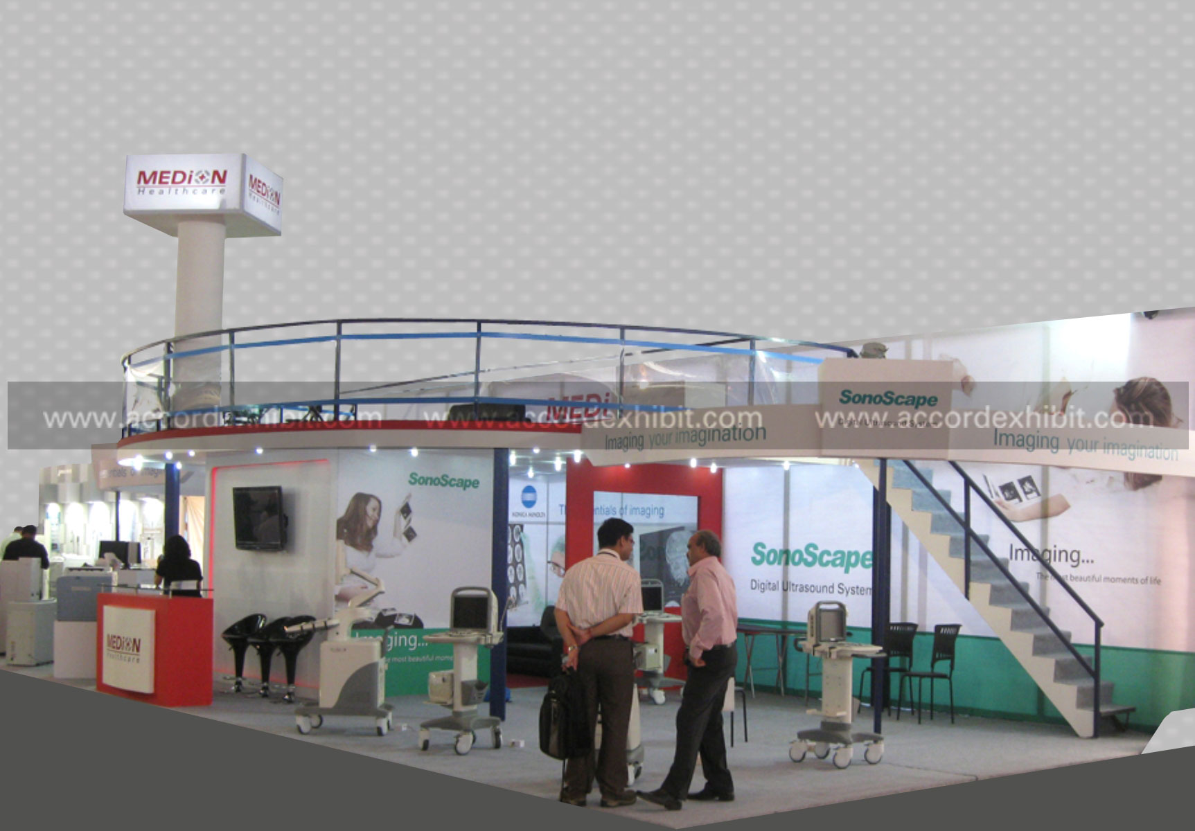 Exhibition Stall for Medion Heathcare
