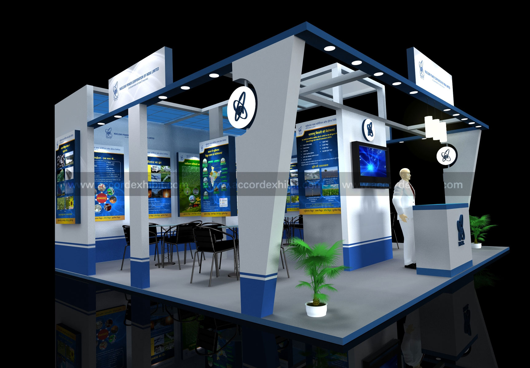 Exhibition Stall Design : Stall design exhibition fabrication