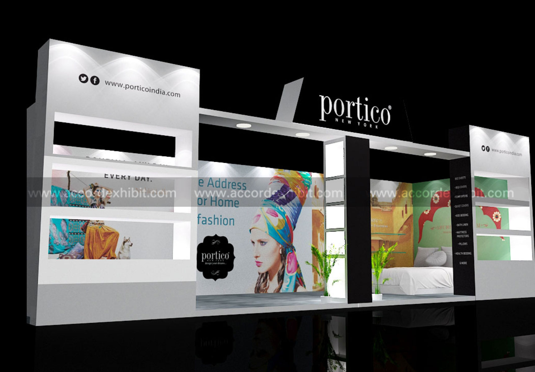Exhibition Stall for Potico India