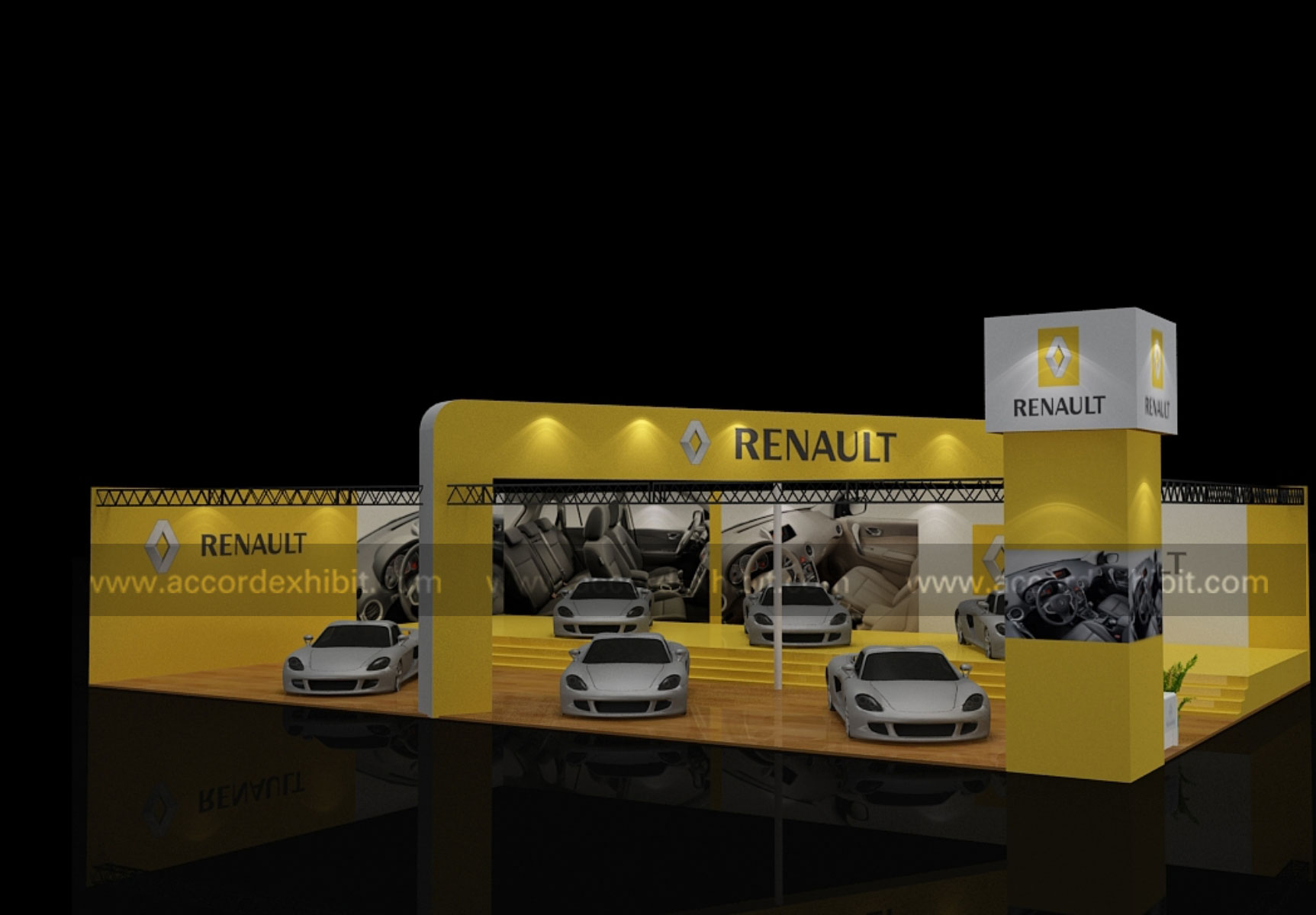 Exhibition Stall for Renault