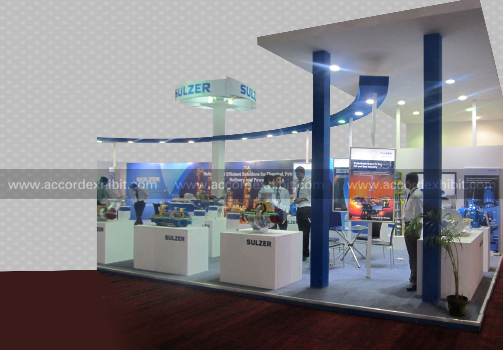 Exhibition Stall Names : Exhibition stall design for sulzer btl activities
