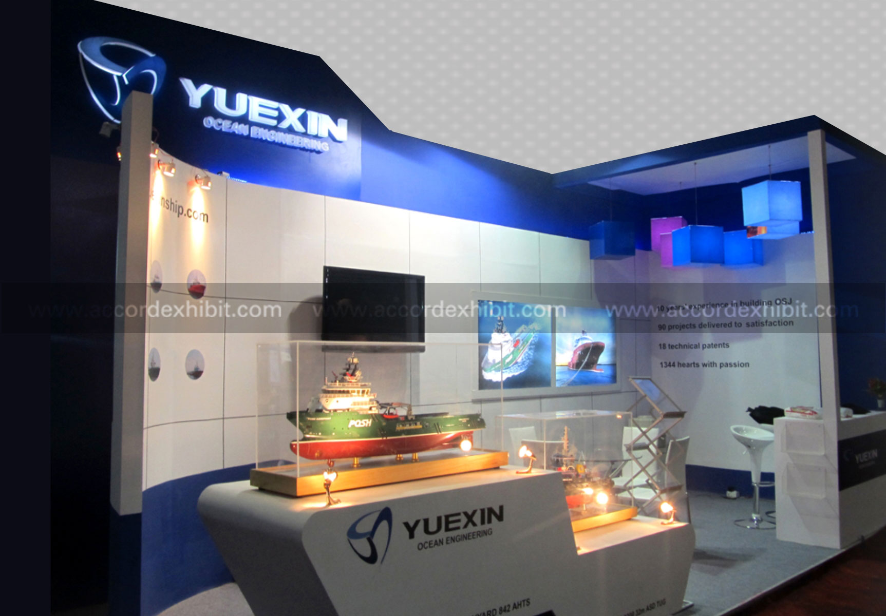 Exhibition Stall for Yuexin Engineering