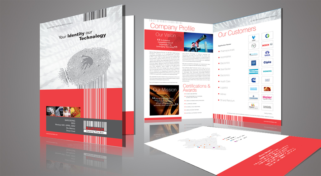 Brochure design for bartech bartech 39 s brochure designer for Brochure for web design company