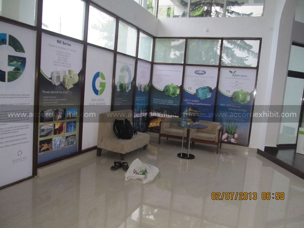 Exhibition Stall for Crompton Greaves