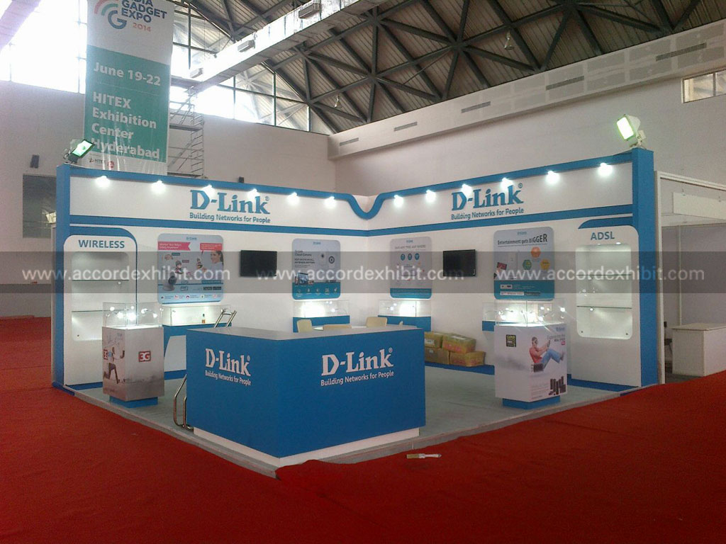 Exhibition Stall for Dlink