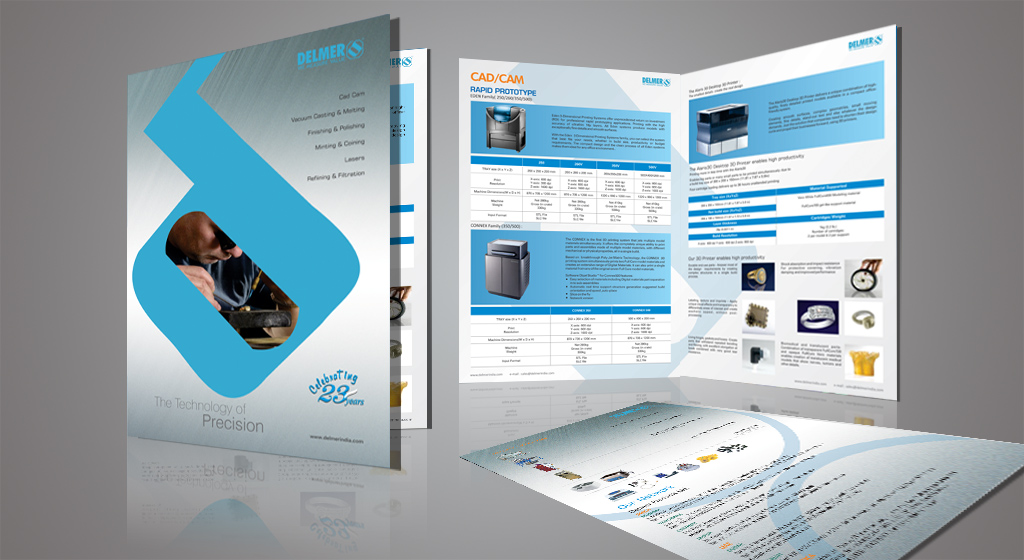 Brochure Design for Delmer