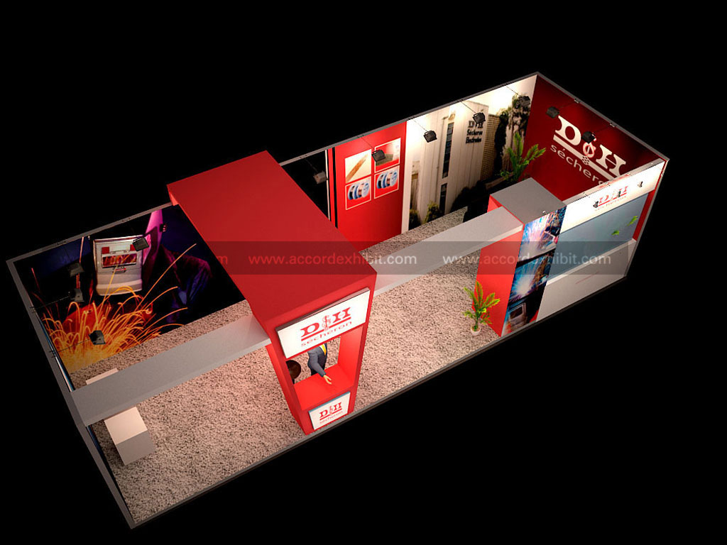 Exhibition Stall for D & H Secheron