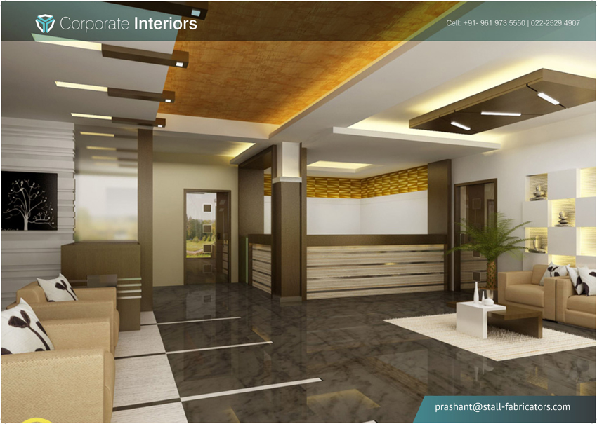 Corporate Interior Mumbai Brand Centric Interior False Ceiling