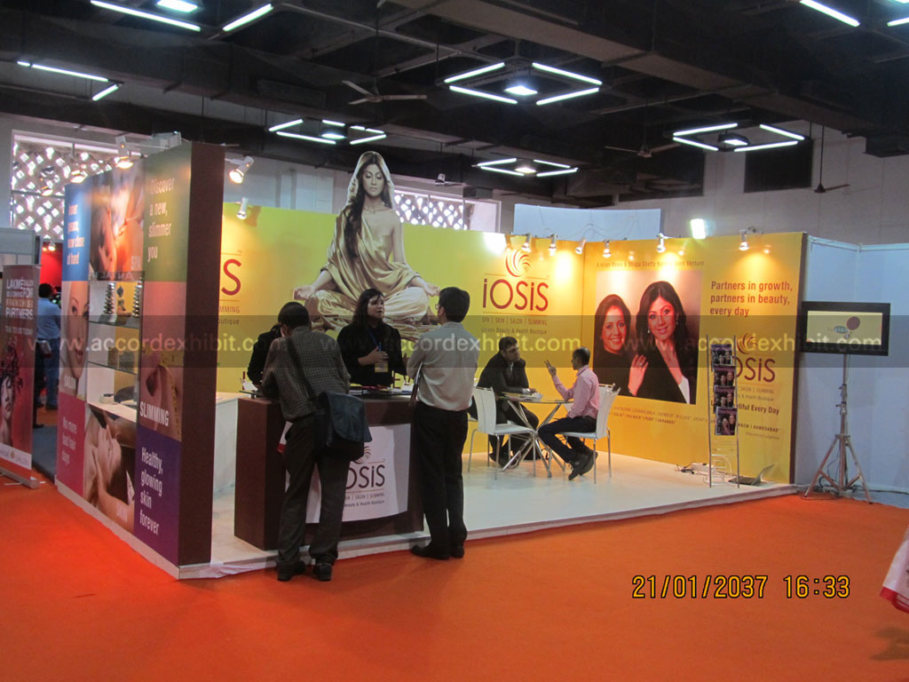 Exhibition Stall for Iosis