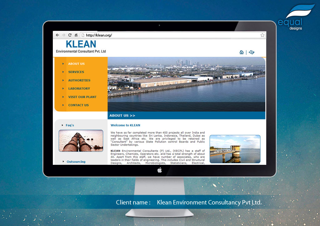 Exhibition Stall for Klean Environment Consultancy Pvt Ltd.