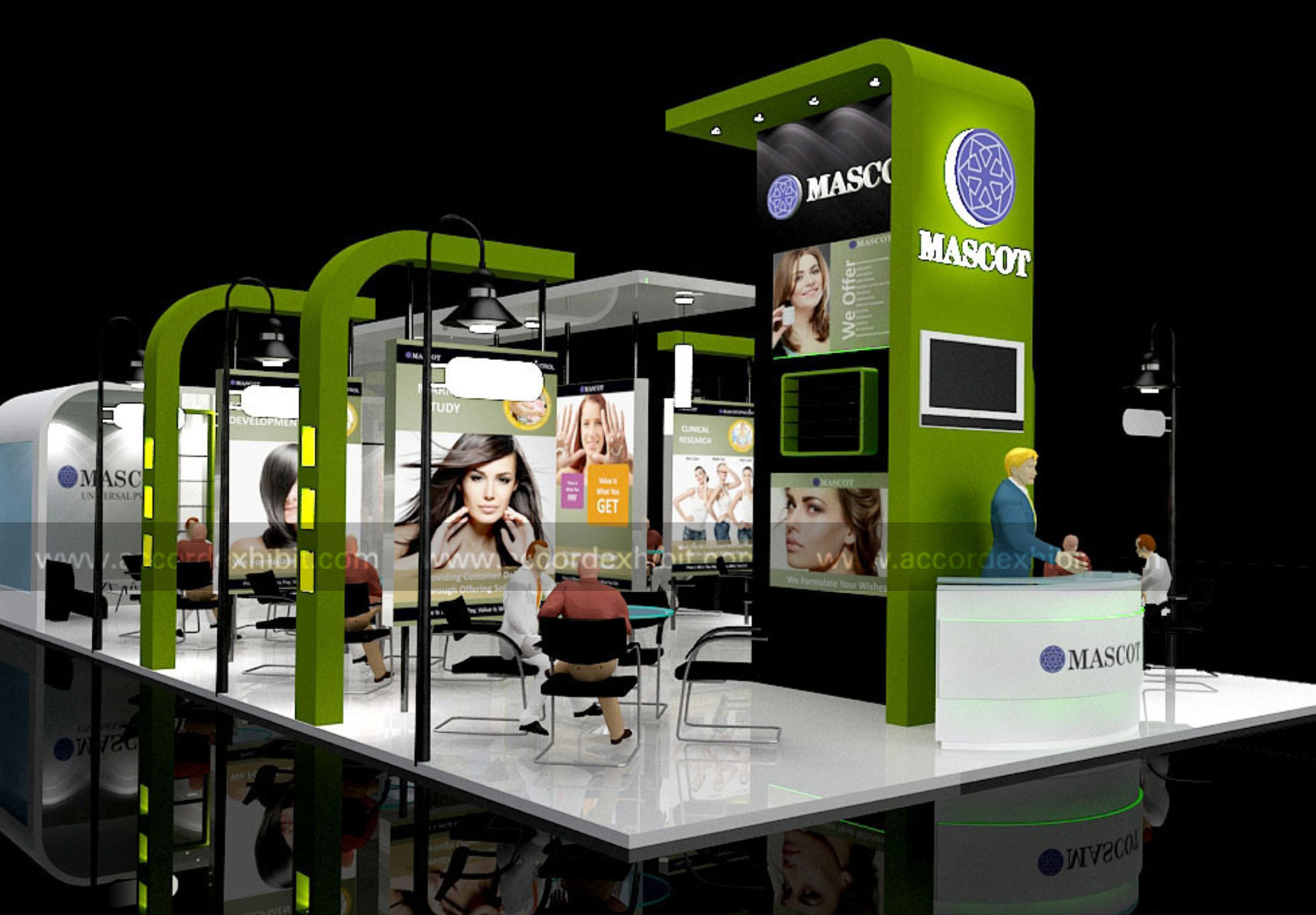 Exhibition Stall Design Ideas : Stall design exhibition fabrication