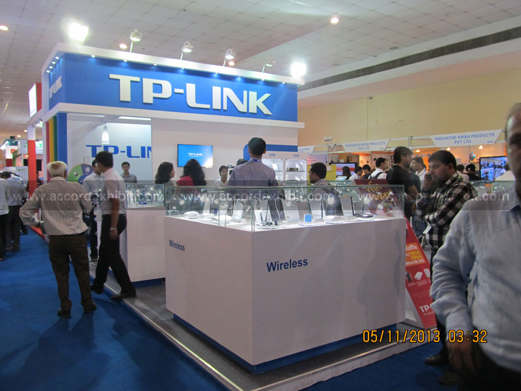 Exhibition Stall for T p link