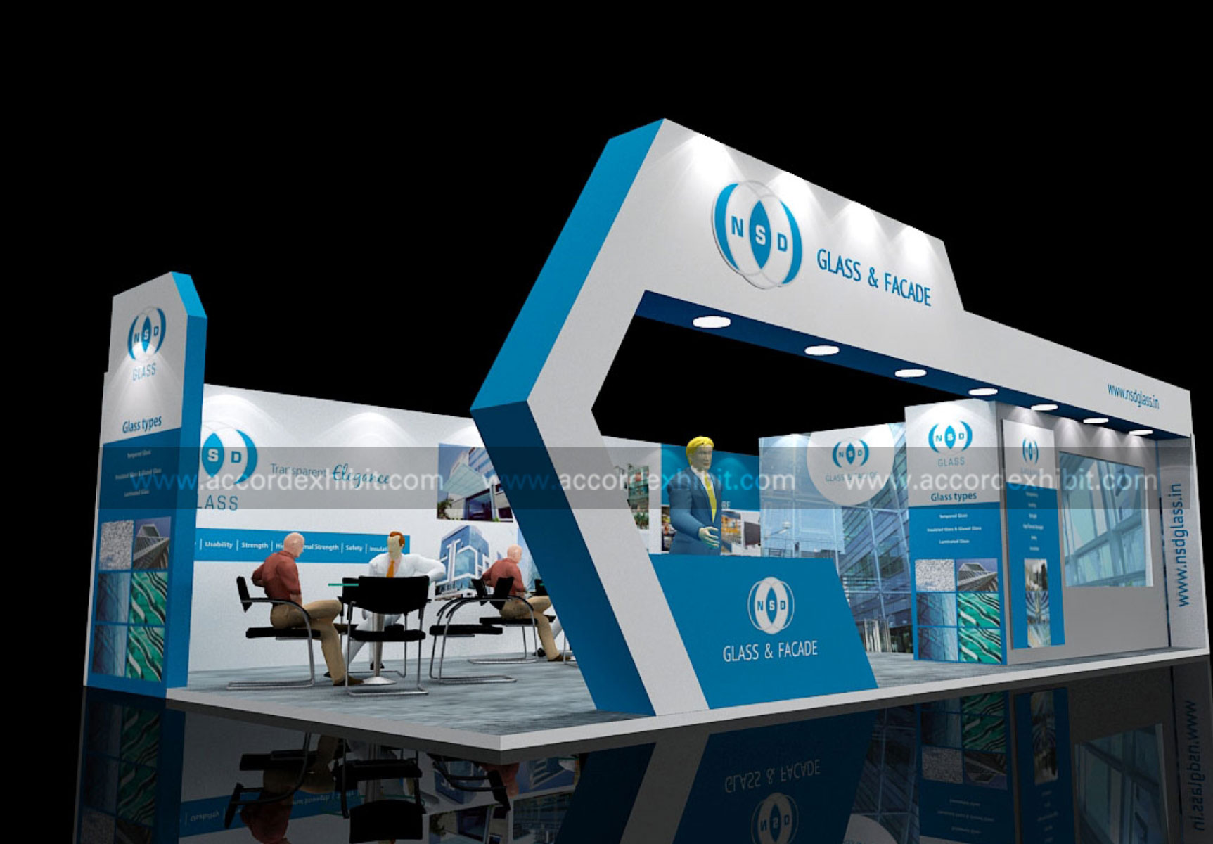 Exhibition Stall Photos : Stall design exhibition fabrication